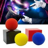 Boxes Red Blue Yellow Sponge Ball Trick Black Box Mystery I6F7