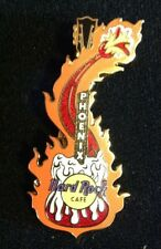 HARD ROCK CAFE PIN PHOENIX 2003 Melting Guitar with Flames NEW