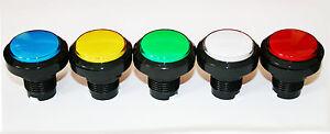 Arcade Taster Nr. 10 BELEUCHTET Aktionstaster Push Button Mame Automat LED