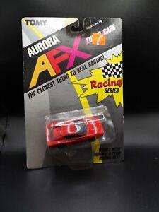 TOMY AURORA AFX RED FERRARI  TESTAROSSA #8777 SLOT CAR NEW OLD STOCK 1989