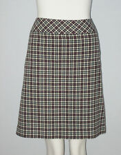 MANTLES Petite Size 14P Multi-Color Polka Dot Print Skirt