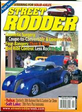 2002 Street Rodder Magazine: Steering for Solid Axles/Coupe to Convertible