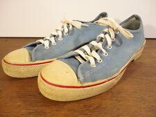 Keds Allsport Mens Vintage 1960's Sky Blue Retro Sneakers Tennis Shoes w/Heels