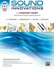 Sound Innovations For Concert Band-Clarinet Music Book 1 With Online Access-New