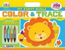 My First Bible Color and Trace Book (I'm Learning the Bible Activity Book)