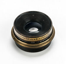 Wollensak 8x10 Symmetrical Brass Wide Angle Lens