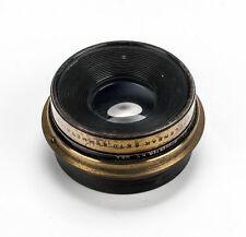 Wollensak 8x10 Symmetrical Brass Wide Angle Lens