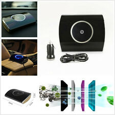 Universal 12V Car Air Purifier Eliminate Odor Auto Air Cleaner Filter Ionization