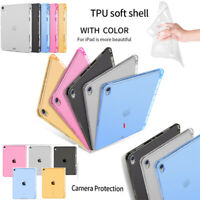 "For 2018 iPad Pro 11"" 12.9 inch Clear Ultra-thin Soft TPU Silicone Cover Case"