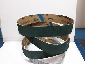 50mm x 686mm  Zirconium Abrasive Belt Various Grit Options- P60,80,120 / 9 belts