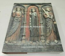 Gothic book Piedmont 1992 First Edition Art Sculpture Painting