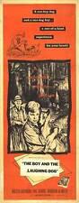 Good-Bye My Lady original 1956 14x36 movie poster Basenji/Brandon De Wilde