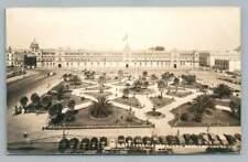 Zocalo & Palace MEXICO CITY Vintage Photo RPPC Foto Tarjeta DF Cars 1950s