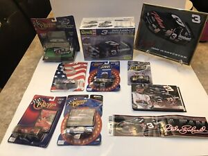 DALE EARNHARDT NASCAR COLLECTION LOT