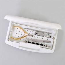 Pro Nail Sterilizer Tray Disinfection Pedicure Manicure Sterilizing Box LO