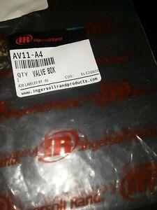 Ingersoll Rand Av11-a4 Valve Box Assembly For AVC Series Air Riveter gun