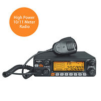 0AnyTone AT5555N 10 Meter Radio Transceiver 40CH  12W AM/30W FM/30W SSB