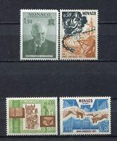 S12407) Monaco MNH 1971, Unesco 4v