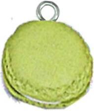 Macaron argilla polimerica Ø 15 MM Pistacchio - MegaCrea