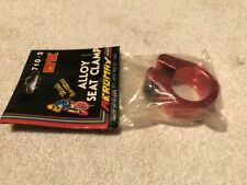 OLD SCHOOL BMX NOS AEROMAX RED ALLOY SEAT CLAMP