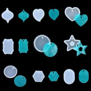 Resin Jewellery Supplies Handmade Crafts Epoxy Mold Silicone Mold Casting Mould