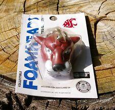Foamhead Washington State Cougars Keychain Keyring Key Chain Ring 2002 Coughead