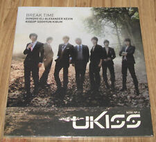 UKISS U-Kiss Break Time 4TH MINI ALBUM K-POP CD + PHOTOCARD SEALED