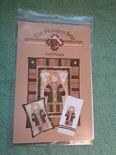 """The Wooden Bear Quilt Designs 019 """"Country Angel"""" Wallhanging NEW Pattern Uncut"""