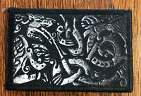 VIKING Wolf Steel Morale Patch Tactical Military Army Badge Hook Flag