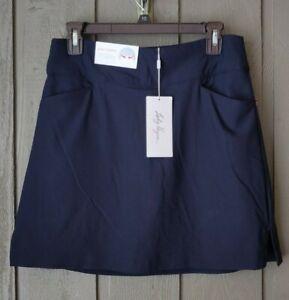 Lady Hagen Women's Navy Tummy Control Easy Shaper Skort MEDIUM