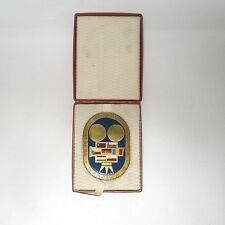 Aus Nachlass Medaille Plakette Polen Filmfestspiele 1972 ca.9,5 x 6,5cm  mit Box