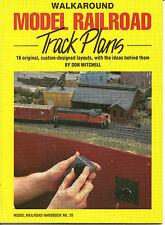 Walkaround Model Railroad Track Plans  By  Don Mitchell