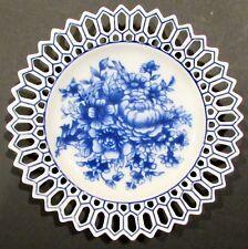 Basic Porcelana Decorative Floral Plate