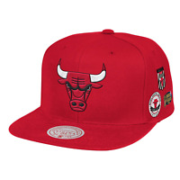 Mitchell & Ness Red NBA Chicago Bulls Blue Under Finals HWC Snapback