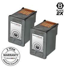 2pk C9351AN BLACK Ink Cartridge for HP 21 Deskjet D1520 D1530 D1550 D1555 D1558