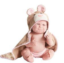 "Realistic Soft Baby Reborn  ""Pouty"" La Newborn Moments 17"" Berenguer vinyl Doll"