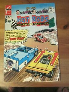 Hot Rods and Racing Cars #118 February 1973 - Charlton                      ZCO1
