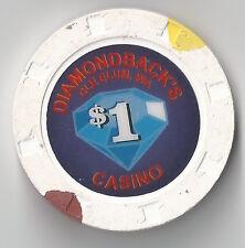 $1 WASHINGTON DIAMONDBACK'S CASINO CHIP CLE ELUM