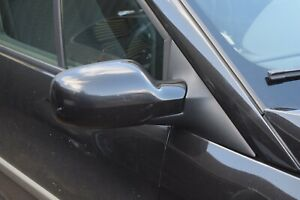 06-09 RENAULT SCENIC MK2 DRIVERS SIDE RIGHT ELECTRIC WING MIRROR - BLACK (676)