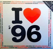 22nd BIRTHDAY GIFT - I Love 1996 Compilation CD-Year Greeting Card