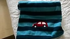 BEAUTIFUL BLUE CARS BRAND NEW FLEECE PRAM/CAR SEAT/CRIB BLANKETS *SALE PRICE*