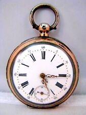 Antik Silber 800 JM Herren Schlüssel Taschenuhr pocket watch um 1900