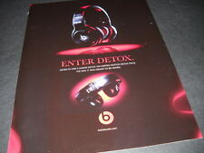 DR. DRE Enter Detox with the DETOX PROS 2011 Promo Display Advert mint condition