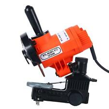 Electric Bench Grinder Chainsaw Chain Sharpener Wall Mount 12V 60HZ 85W 4800 RPM
