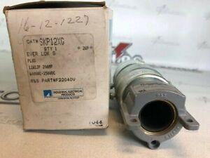 RUSSELLSTOLL SKP12XG EVER LOK 11W12P 20 AMP 600VAC MALE PLUG
