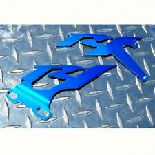 Yamaha '07-08 R1 Candy Blue Heel Guards / Ankle Plates 2007 2008 YZF-R1