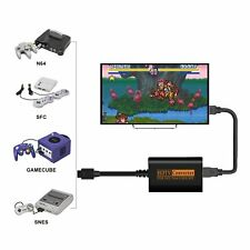 HDMI Adapter Converter HD Cable For Nintendo 64/SNES/NGC/SFC  Gamecube Console