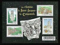 Bloc Feuillet 2012 N°F4641 Timbres - Les Chemins de Saint-Jacques-de-Compostelle