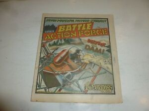 BATTLE ACTION FORCE Comic - Date 06/04/1985 - UK Paper Comic