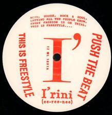 "Irini(12"" Vinyl)This is Freestyle-Not On Label-12 ML 1001-UK-Ex/Ex"